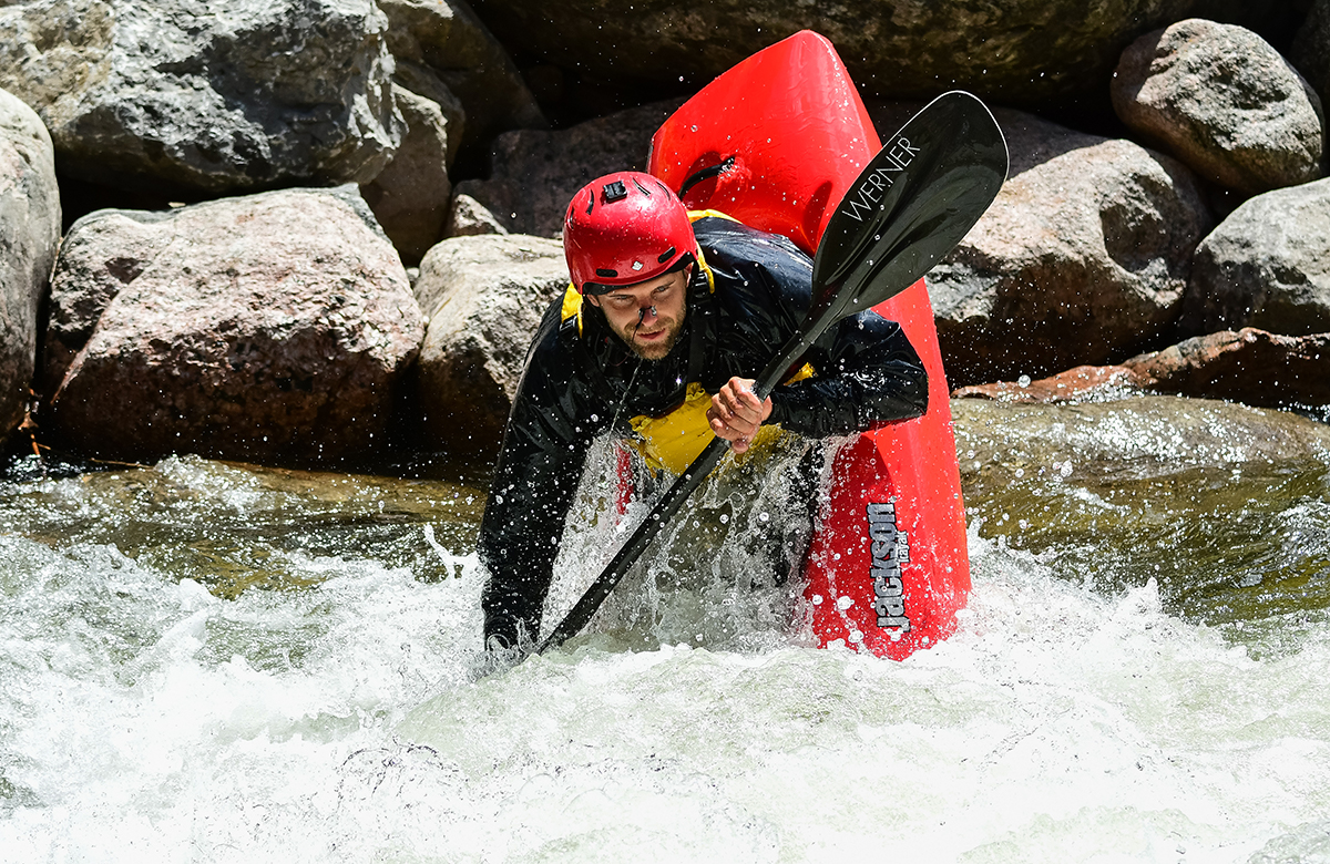 Freestyle Kayaking, Vail, CO