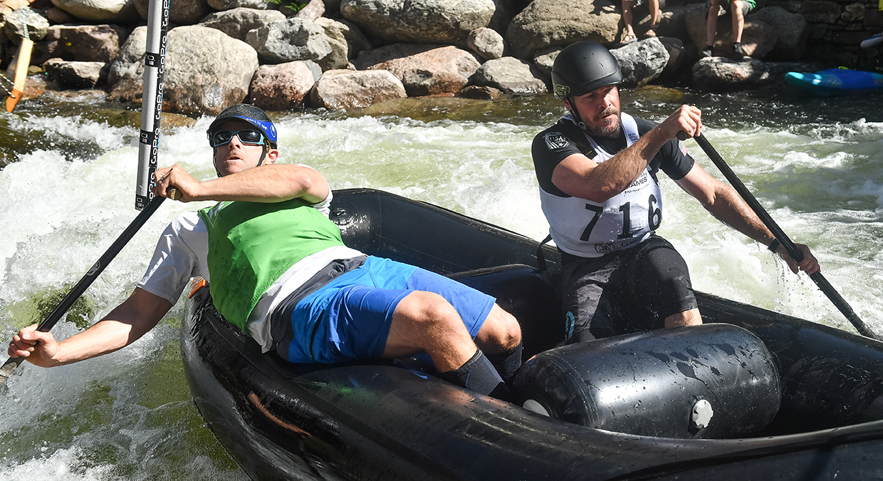 Rafting Races, Vail, CO